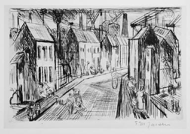 [plate 5, Industry, Industrie, (street), Untitled]