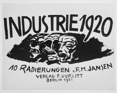 [cover, Industry, Industrie, Industrie 1920, Industry 1920]