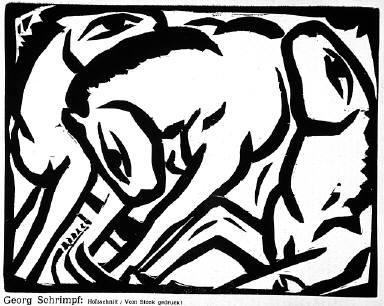 [7, no. 6 (1916), page 67, (animals), Der Sturm, Untitled]