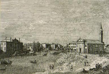 [At Dolo, Vedute, altere prese da luoghi altere ideate (Venice, crica 1744), plate 4]