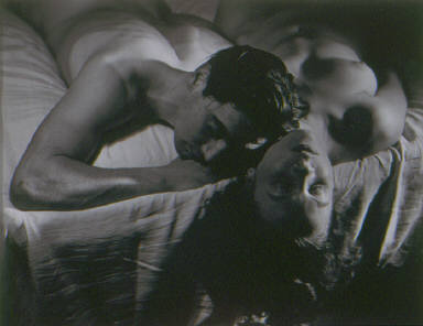 Untitled [Jean Cocteau & woman]