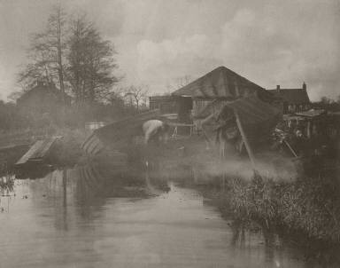 [A Norfolk Boat-Yard, Life and Landscape on the Norfolk Broads]