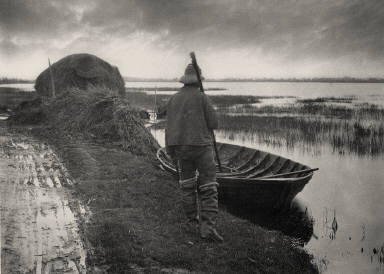 [Marshman Going to Cut Schoof-Stuff, Life and Landscape on the Norfolk Broad]