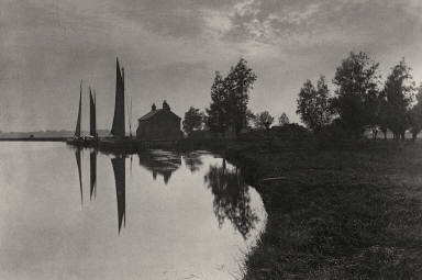 [Cantley: Wherries Waiting for the Turn of the Tide, Life and Landscape on the Norfolk Broads]