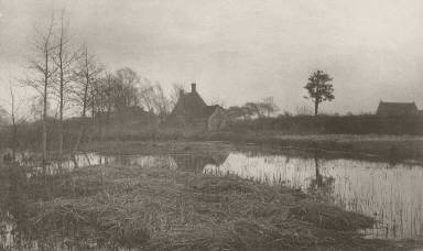 [Evening, Life and Landscape on the Norfolk Broads]