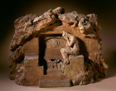 Weeping Figure at a Sepulchre