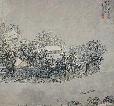 Views of the Zhi Garden in Jiangnan