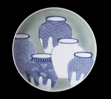 Dish with Five-Jar Design