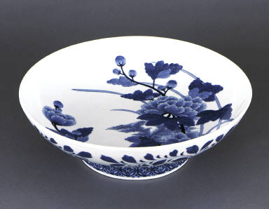 Bowl with Floral Design