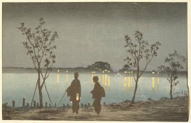 Night on the Sumida River