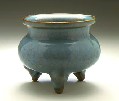 Incense Burner (Lu) in the Form of an Ancient Bronze Tripod (Liding)