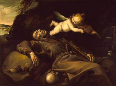 Saint Francis's Vision of the Musical Angel