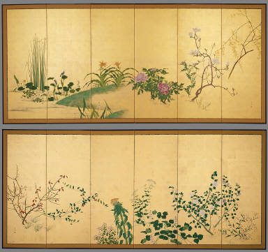 Flowers and Plants of the Four Seasons