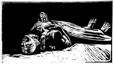 [Seven woodcuts on the war, Die Witwe 2, Sieben Holzlschnitte zum Krieg, plate 5, The widow 2]