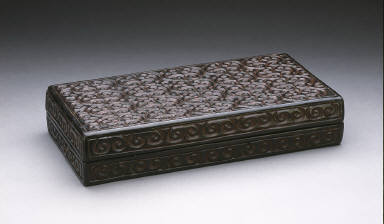 Rectangular Box (Changfang He) with Sword-Pommel Pattern