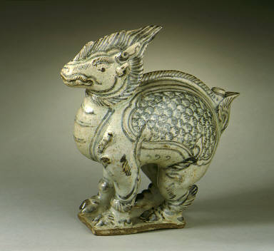 Water Dropper in the Form of a Fantastic Quadruped (Kilen)