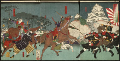 [Battle before Kumamoto Castle, A Chronicle of Events at Kagoshima]