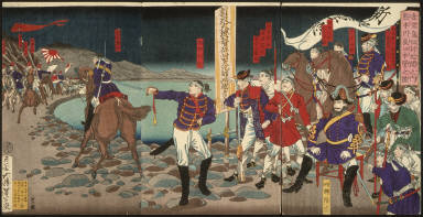 [Headquarters at Sentoguchi, Kumamoto, An Oral Account of the Subjugation of Kagoshima]