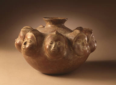 Vessel with Nine Heads