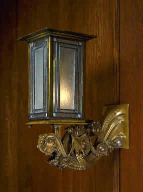 Wall Sconce from the Henry B. Babson House, Riverside, Illinois