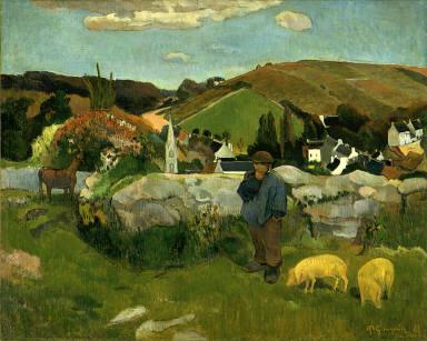 Swineherd, Brittany