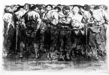 [Bauernkrieg, plate 7, Die Gefangenen, The prisoners]