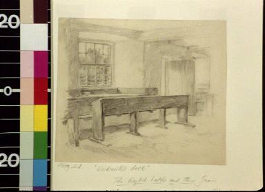 Wordsworth's desk