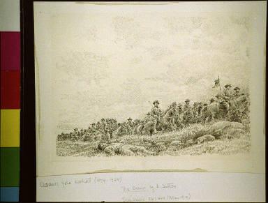 Cavalry on battlefield