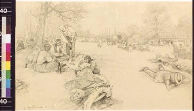 Sunday picnics in the Bois de Vincennes
