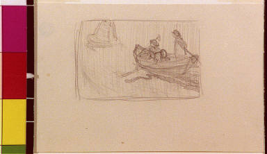 Three people in boat