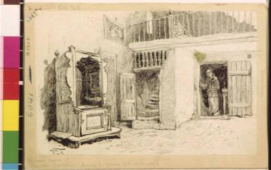 The present chapel of San Juan Capistrano