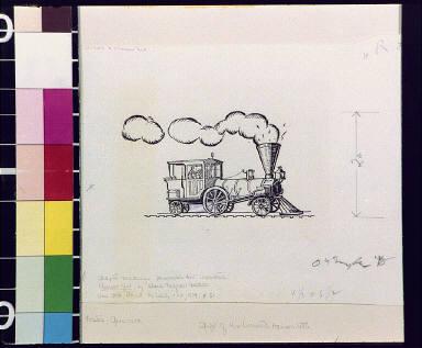 Janesville's first locomotive