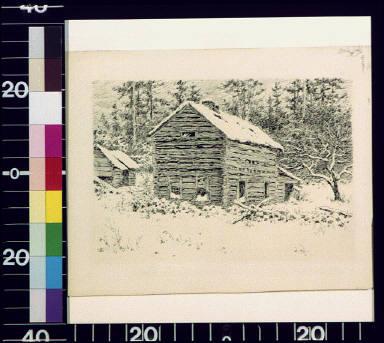 Abandoned farm house, Monroe County, Pa