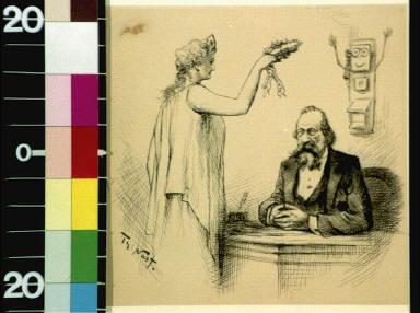 Alexander Graham Bell and Miss Liberty