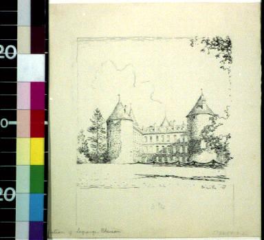 Chateau of Lagrange Bleneau