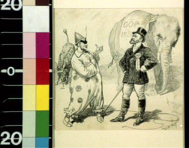 An experienced performer : Ring-master Platt--Now Chauncey, have you ever had any experience with an elephant before, sir? Clown-- No, sir, but I had a great deal of experience with a mule once
