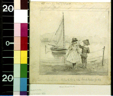 The sail on the lake