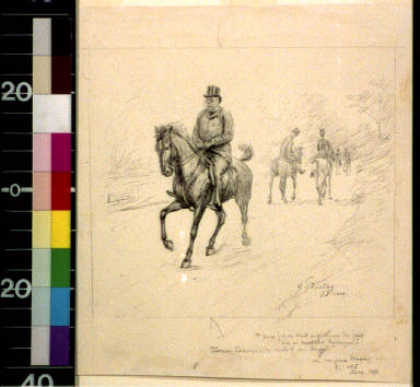 And for so stout a gentleman, Mr. Port was an excellent horseman