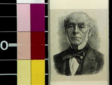 John Dalziel, English wood engraver, my teacher, about 1876