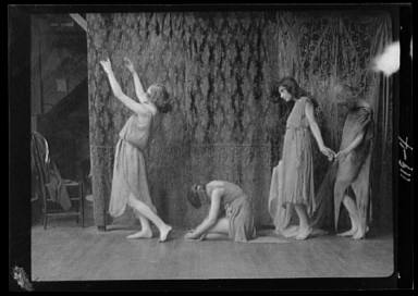 Wanger, Beatrice, Miss, and other dancers