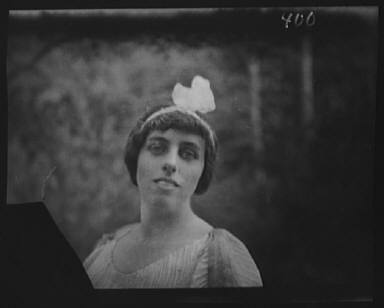 Wilson, Eleanor, Miss, portrait photograph