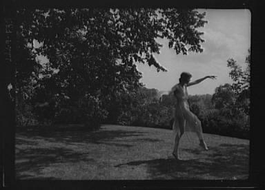 Elsie Dufour dancer