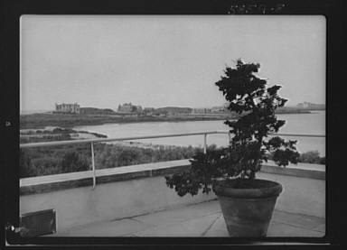"""House and grounds of """"The Shallows,"""" property of Lucien Hamilton Tyng, Southampton, Long Island"""