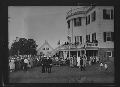 Celebration at the General Knox estate