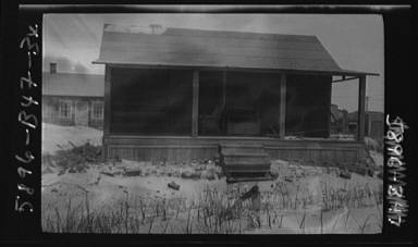 Arnold Genthe's bungalow at Long Beach
