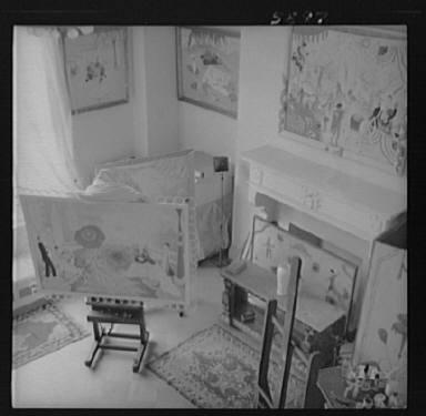 Stettheimer, Florine, Miss, studio