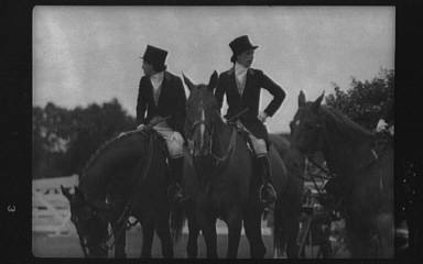 Horse show in Westport, Connecticut
