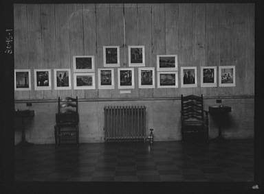Exhibition of Arnold Genthe photographs at the Guild Hall, Easthampton, Long Island