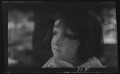 Unidentified child, portrait photograph
