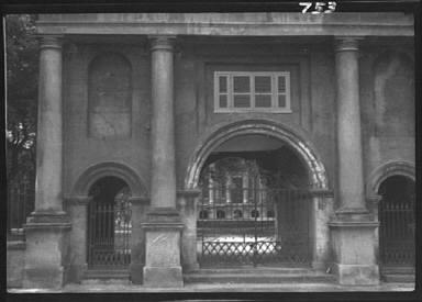 Three arched gateways, New Orleans or Charleston, South Carolina